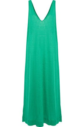 BY MALENE BIRGER Thiana linen-jersey maxi dress