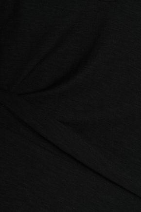 JAMES PERSE Slub cotton and modal-blend jersey top