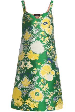 ROCHAS Cotton-blend brocade dress
