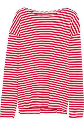 CURRENT/ELLIOTT The Breton striped cotton-jersey top