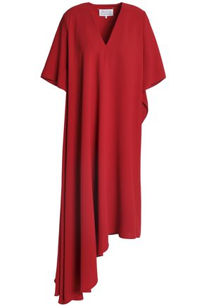 MAISON MARGIELA Asymmetric draped crepe dress