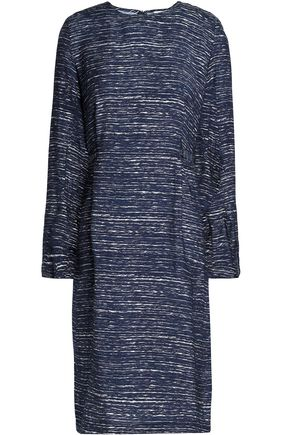 HOUSE OF DAGMAR Gathered woven dress