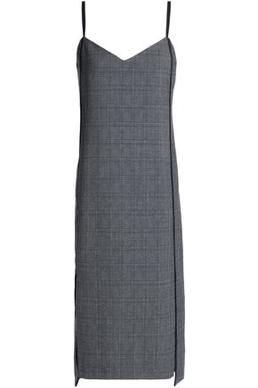 HOUSE OF DAGMAR Prince of Wales checked jacquard dress