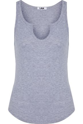 LNA Ribbed-knit tank