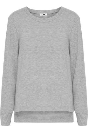LNA Pier brushed stretch-Tencel sweatshirt