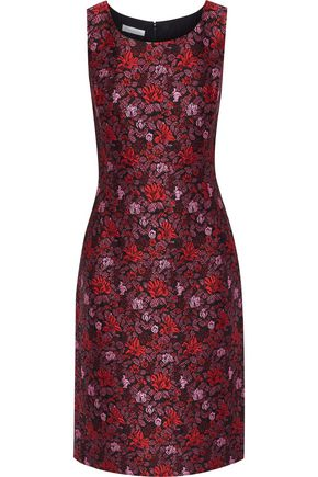 OSCAR DE LA RENTA Brocade dress