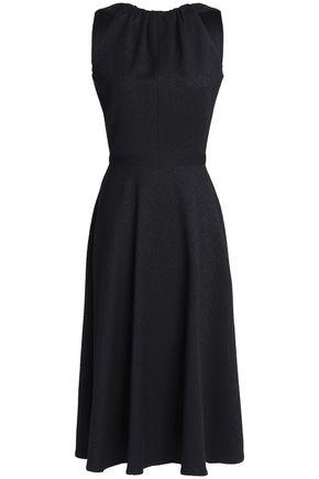 EMILIO de la MORENA Cotton-blend jacquard midi dress