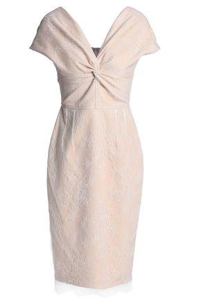 EMILIO de la MORENA Knotted lace dress