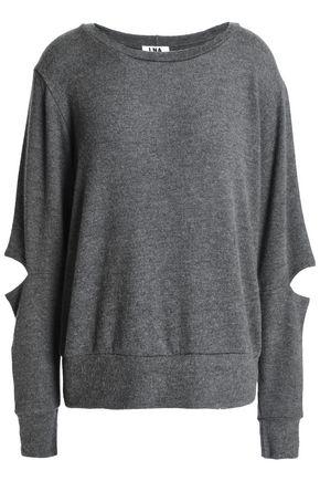 LNA Cutout jersey sweatshirt