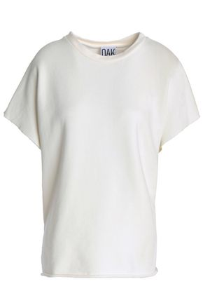 OAK Frayed cotton top