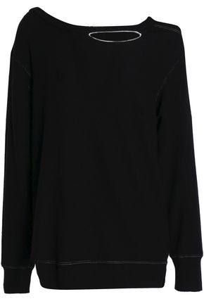 LNA Cutout stretch-Tencel jersey top