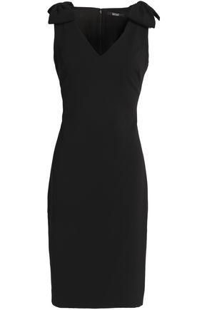 BADGLEY MISCHKA Bow-embellished cady dress