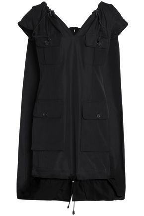 MAISON MARGIELA Asymmetric cotton and silk-blend twill dress