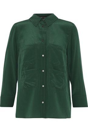 ROCHAS Silk crepe de chine shirt