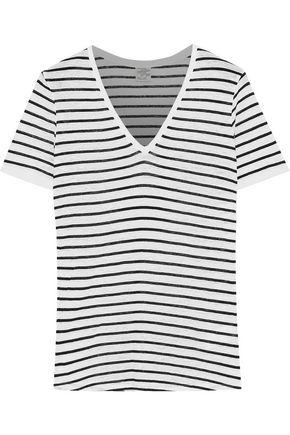 BAUM UND PFERDGARTEN Jassy striped slub jersey T-shirt