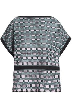M MISSONI Jacquard-knit top