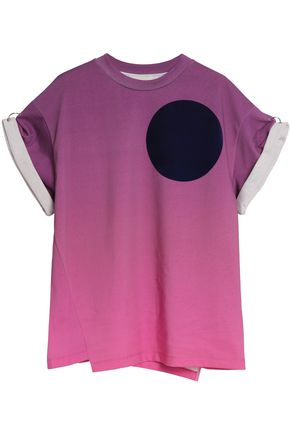 3.1 PHILLIP LIM Printed dégradé cotton-jersey T-shirt