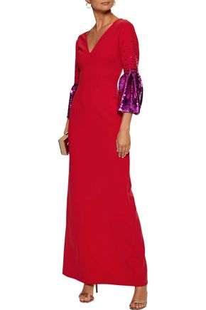 SACHIN & BABI Byzas sequin-embellished cady gown