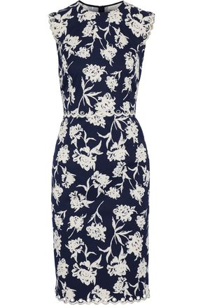 SACHIN & BABI Lillie embellished floral-print faille dress