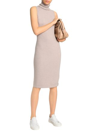 AUTUMN CASHMERE Cashmere turtleneck dress