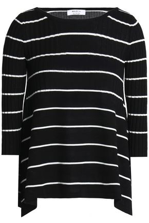 BAILEY 44 Sumo striped ribbed-knit sweater