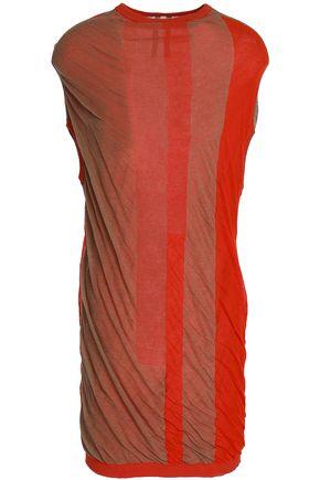 RICK OWENS Striped cotton-jersey top