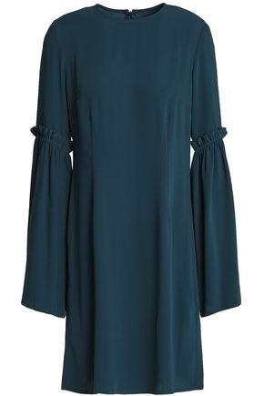 MM6 MAISON MARGIELA Ruffle-trimmed cady mini dress
