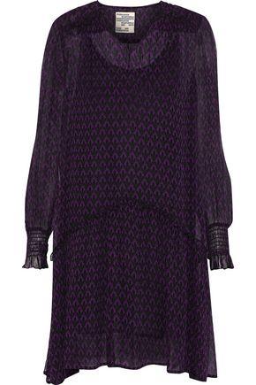 BAUM UND PFERDGARTEN Abalena printed georgette mini dress
