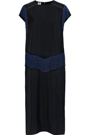 BAUM UND PFERDGARTEN Abiline embellished modal-blend dress