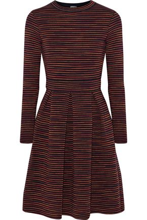 M MISSONI Intarsia wool-blend mini dress