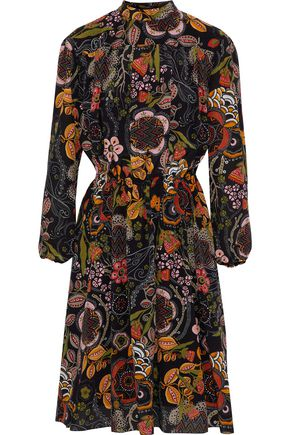 M MISSONI Printed silk crepe de chine dress