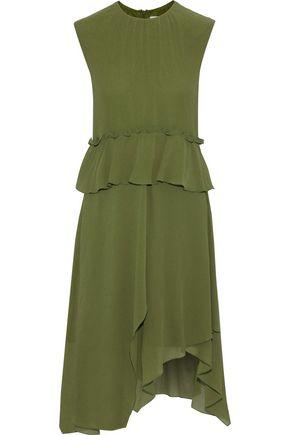 M MISSONI Ruffle-trimmed silk-georgette dress