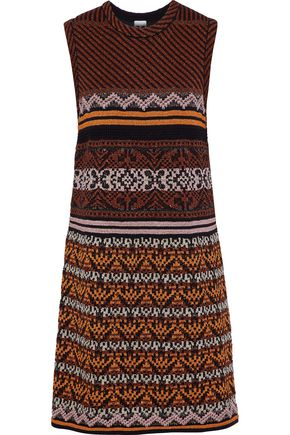 M MISSONI Metallic jacquard-knit dress