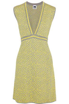 M MISSONI Metallic jacquard-knit mini dress