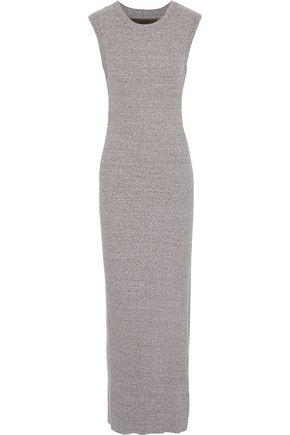 ENZA COSTA Ribbed jersey maxi dress