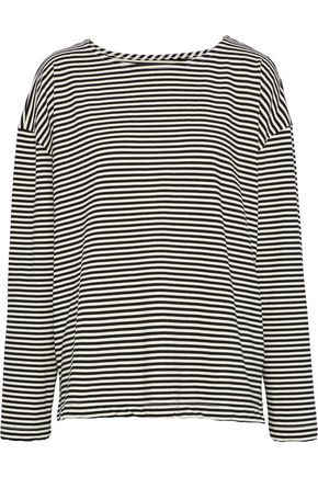 CURRENT/ELLIOTT The Breton striped jersey top