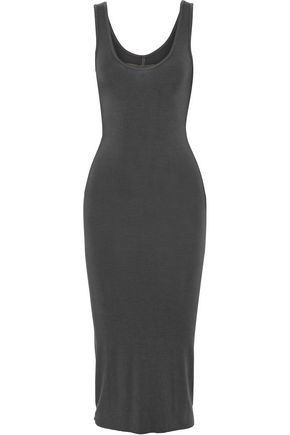 ENZA COSTA Stretch-jersey midi dress