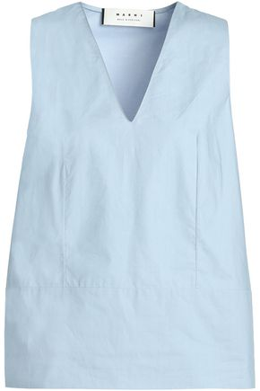 MARNI Cotton-poplin top