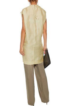 RICK OWENS Silk-organza tunic