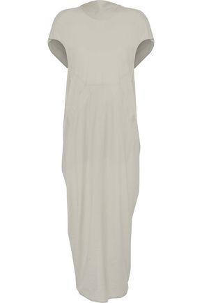 RICK OWENS Cotton-gauze midi dress