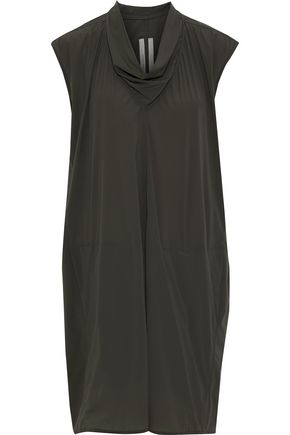 RICK OWENS Draped shell tunic