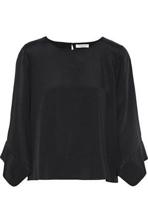 HALSTON HERITAGE Crepe de chine blouse