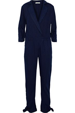 HALSTON HERITAGE The Pant denim jumpsuit
