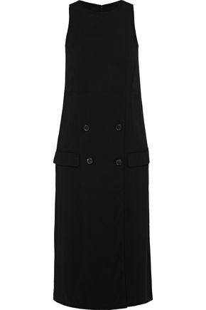 MAISON MARGIELA Button-detailed crepe dress