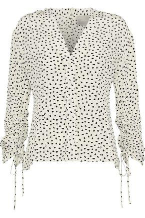 JASON WU Printed silk crepe de chine blouse