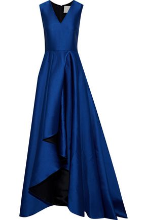 JASON WU Pleated satin-crepe gown