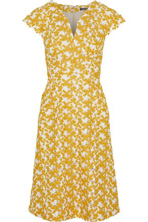 ZAC POSEN Mimosa guipure lace dress