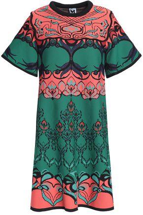 M MISSONI Jacquard-knit mini dress