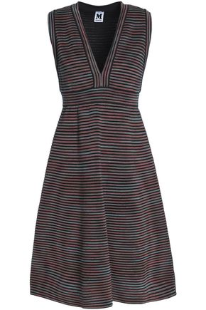 M MISSONI Fluted wool-blend jacquard dress