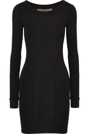 58258d487c77d ENZA COSTA Ribbed-knit mini dress